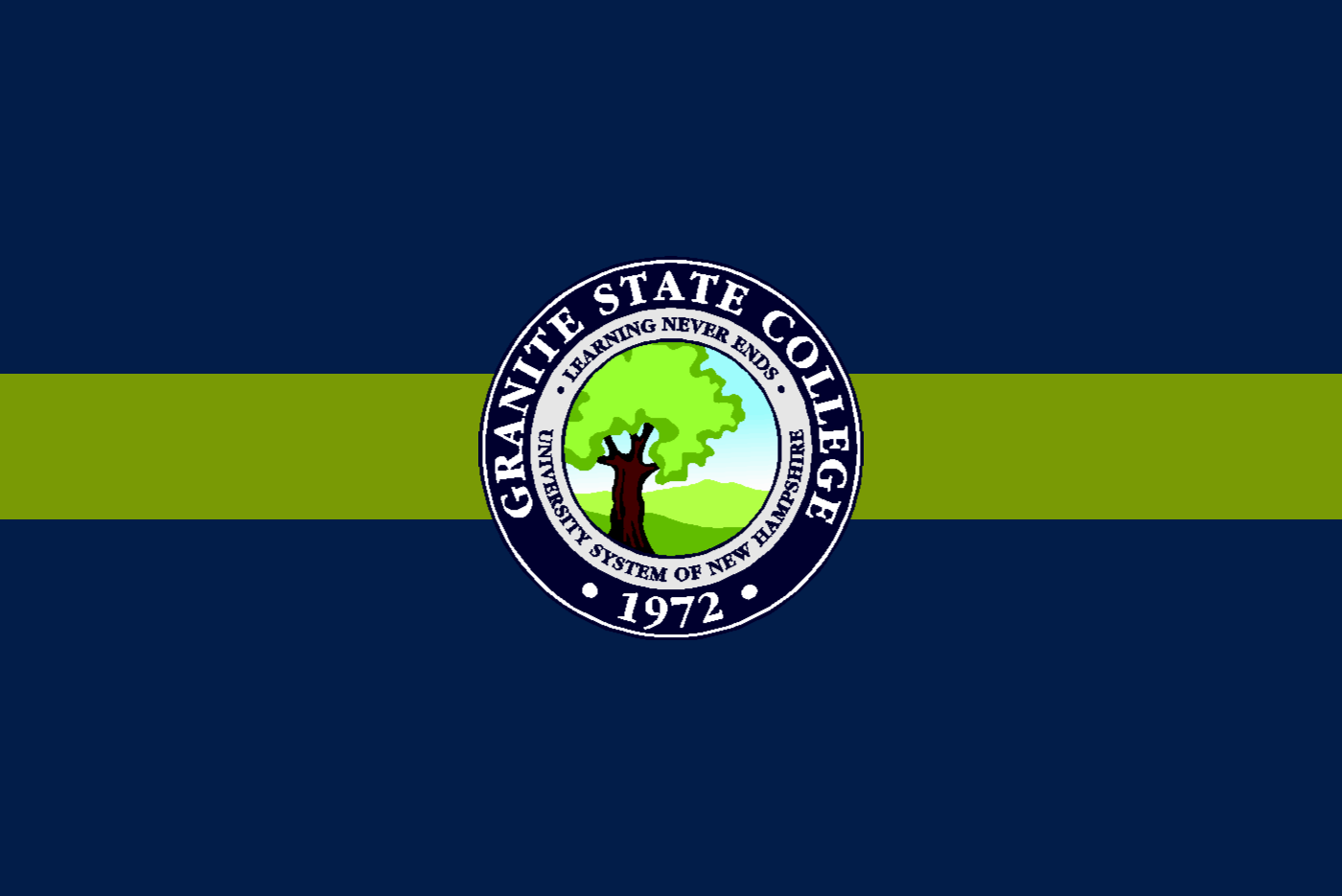 Granite State College seal.