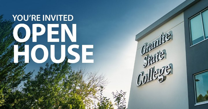 Granite State College Open House