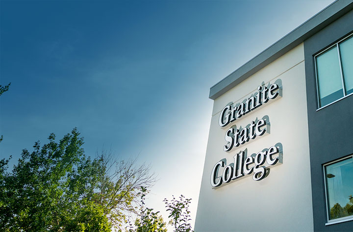 Granite State College's Concord location.