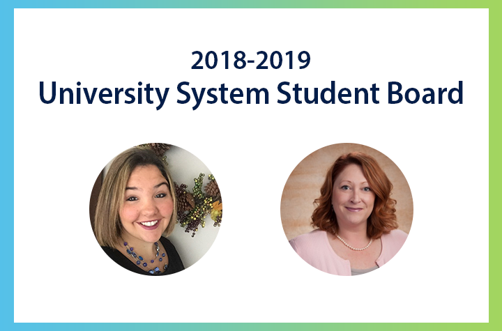 2018-2019 University System Student Board Representatives.